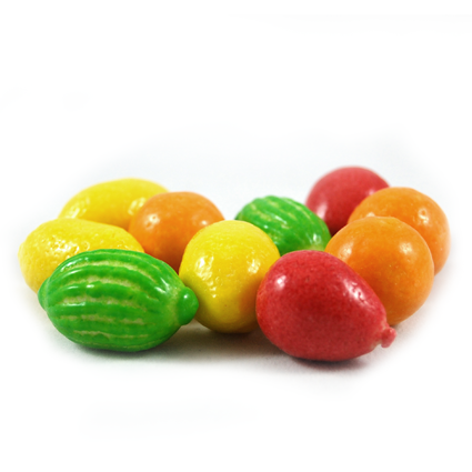 Kaugummi Früchte