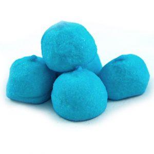 Speckbälle Blau