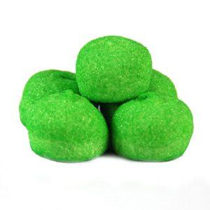Speckbälle Grün