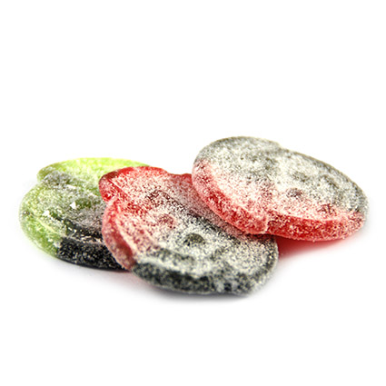 Frucht und Lakritz mega salzig